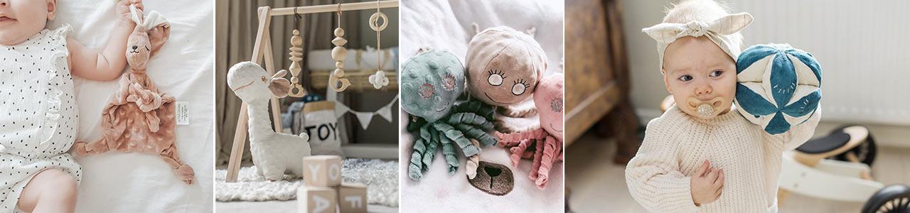 Collection Doudous et jouets sensoriels