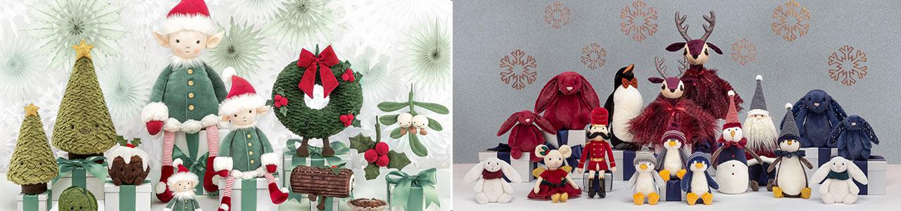 Collection Peluches féériques - Noël