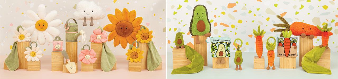 Collection Peluches végétales
