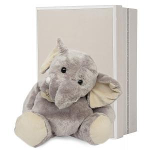Histoire d'ours - HO1284 - Elephant - taille 38 cm - boîte cadeau (104134)