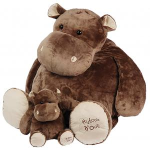 Histoire d'ours - HO1197 - Hippo - taille 120 cm (104143)