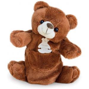 Histoire d'ours - HO1223 - Marionnette ours - taille 25 cm (104182)