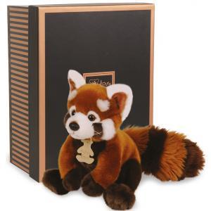 Histoire d'ours - HO2217 - Les authentiques - panda rouge - taille 20 cm - boîte cadeau (176357)