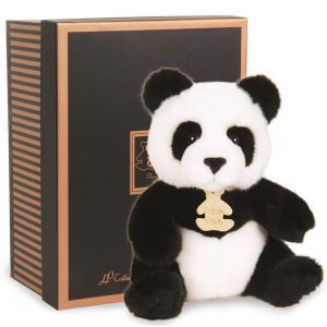 Histoire d'ours - HO2212 - Les authentiques - panda - taille 20 cm - boîte cadeau (176375)