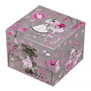 Trousselier - S20604GIRL - Coffret Musique Cube Alice - Figurine Ballerine (183205)