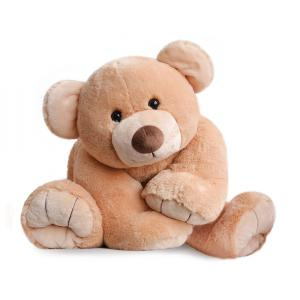 Histoire d'ours - HO2525 - Peluche gros'ours - miel - taille 90 cm (274194)