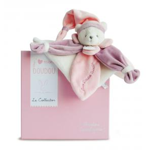 Doudou et compagnie - DC2920 - Collector ours rose - taille 24 cm (305764)