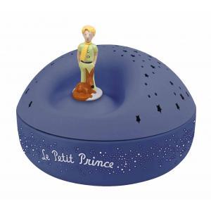 Trousselier - 5030 - Veilleuse - Projecteur d'Etoiles Musical le Petit Prince© 12 Cm - Piles Inclues (308638)