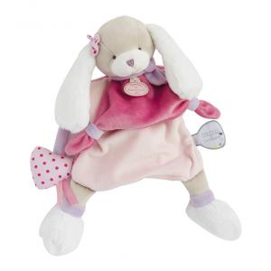 Doudou et compagnie - DC3083 - Marionnette - chien toopi girl - taille 28 cm (334344)