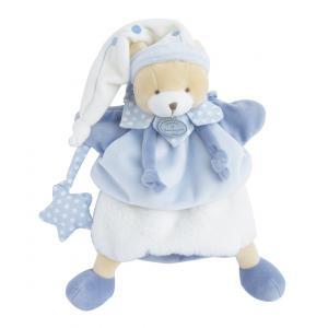 Doudou et compagnie - DC3081 - Marionnette - ours petit chou  - taille 28 cm (334346)