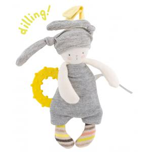Moulin Roty - 663005 - Lapin anneau dentaire Les petits dodos (335054)