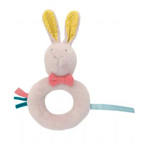 Moulin Roty - 33880-20998 - Anneau-hochet lapin Mademoiselle et Ribambelle (363292)