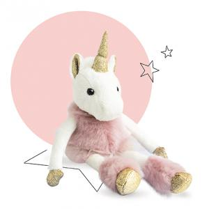 Histoire d'ours - HO2765 - Collection Happy Family - TWIST - Licorne 25 cm (367988)