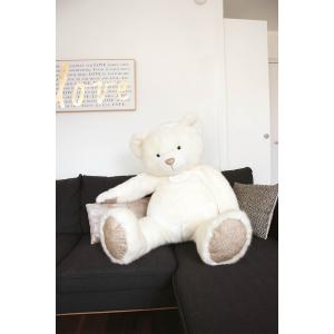Histoire d'ours - DC3416 - Ours collection - blanc poudré - taille 120 cm (372294)
