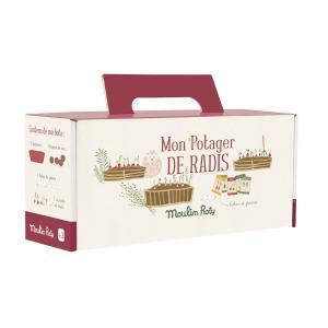 Moulin Roty - 712378 - Kit jardinière radis Le jardin du Moulin (377344)