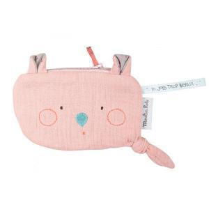 Moulin Roty - 665135 - Pochette souris rose Les Jolis trop beaux (377570)