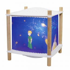 Trousselier - 6030BL - Veilleuse - Lanterne ReVOLUTION 2.0 - le Petit Prince© - Bluetooth, Musicale, Détection des Pleurs & USB Rechargeab (382764)
