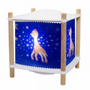 Trousselier - 6061BL - Veilleuse - Lanterne ReVOLUTION 2.0 - Sophie la girafe© - Bluetooth, Musicale, Détection des Pleurs et USB Rechargea (382768)