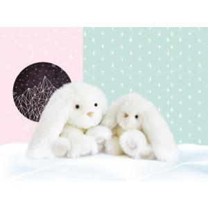 Histoire d'ours - HO2817 - Les animaux des grands espaces - Boule de Tendresse - BOULE DE TENDRESSE - Lapin 25 cm (385730)