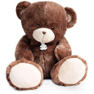 Histoire d'ours - HO2897 - Peluche ours bellydou -  marron  - taille 90 cm (385814)