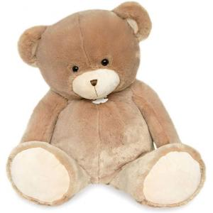 Histoire d'ours - HO2896 - Peluche ours bellydou - champagne - taille 90 cm (385824)