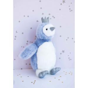 Histoire d'ours - HO2861 - Peluche pigloo bleu - taille 30 cm (385916)