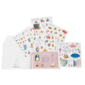 Moulin Roty - 711377 - Cahier stickers Il était une fois - 20 pages (386366)