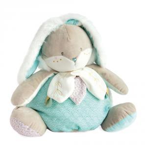 Doudou et compagnie - DC3496 - Lapin de sucre amande - range pyjama  - taille 38 cm (399730)