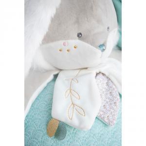 Doudou et compagnie - DC3496 - Lapin de sucre amande - range pyjama  - 38 cm (399730)