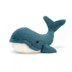 Jellycat - WW3L - Peluche baleine Wally - L = 12 cm x l = 35 cm x H =15 cm (399946)