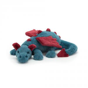 Jellycat - DEX2DD - Peluche dragon Dexter - L = 14 cm x l = 50 cm x H =12 cm (399962)