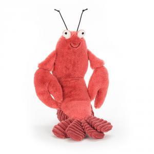 Jellycat - LOB6LS - Peluche homard Larry - L = 7 cm x l = 7 cm x H =20 cm (400264)