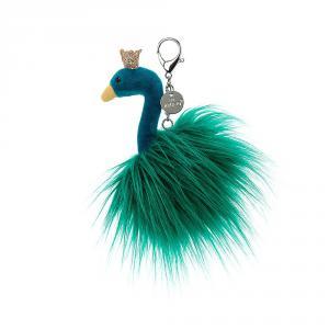 Jellycat - FA4PBC - Fancy Peacock Bag Charm - 14 cm (400464)