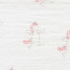 Jellycat - POM2U - Paire de langes en mousseline licorne Bashful - 70 cm (400576)