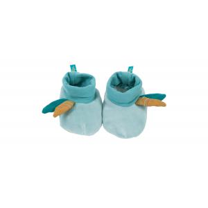 Moulin Roty - 714011 - Chaussons bleus Le Voyage d'Olga (411102)