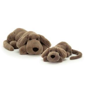 Jellycat - HEN1H - Peluche chien Henry - L = 14 cm x l = 46 cm x H =12 cm (413006)