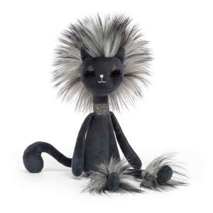 Jellycat - SWE2KC - Peluche chat Swellegant Kitty - L = 6 cm x l = 7 cm x H =35 cm (413042)