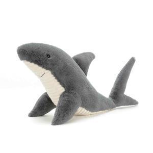 Jellycat - SS3S - Peluche requin Shadow - L = 40 cm x l = 20 cm x H =22 cm (413192)