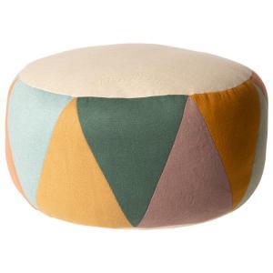 Maileg - 19-9502-00 - Pouf, Large drum - diamètre 43 cm, hauteur 24 cm (414786)