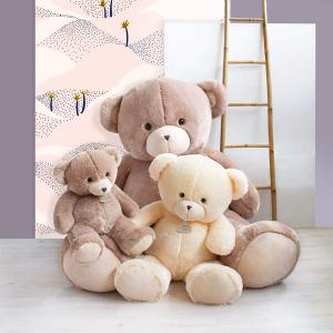 Histoire d'ours - HO2921 - Peluche ours bellydou -  champagne - taille 160 cm (416106)