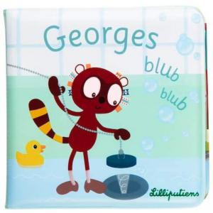 Lilliputiens - 83151 - GEORGES BLUB BLUB Livre de bain (418546)