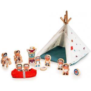 Lilliputiens - 83146 - Le tipi et les indiens (418552)