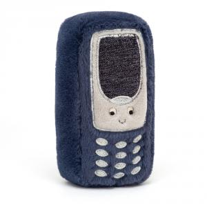 Jellycat - WIG4P - Peluche téléphone Wiggedy - L = 3 cm x l = 9 cm x H =15 cm (420176)