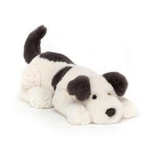 Jellycat - DASH4DG - Peluche chien Dashing - Littl - L = 8 cm x l = 29 cm x H =8 cm (420302)