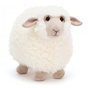 Jellycat - ROL2S - Peluche mouton Rolbie - L = 36 cm x l = 19 cm x H =28 cm (420310)