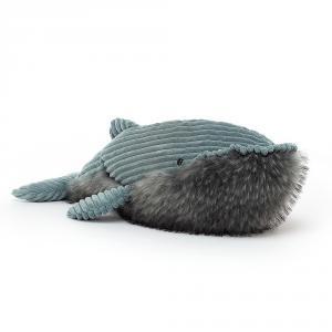 Jellycat - WLY2W - Peluche baleine Wiley - L = 19 cm x l = 50 cm x H =17 cm (420334)