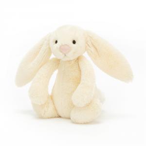 Jellycat - BASS6PRI - Bashful Buttermilk Bunny Small - L = 8 cm x l = 9 cm x H =18 cm (420388)