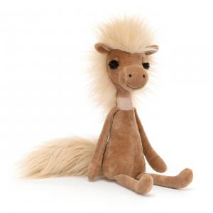 Jellycat - SWE2H - Peluche cheval Swellegant cheval - L = 6 cm x l = 7 cm x H =35 cm (420434)