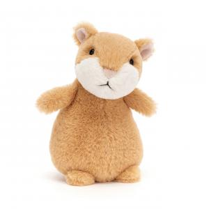 Jellycat - HH6C - Peluche hamster Happy cinnamon - L = 9 cm x l = 8 cm x H =15 cm (420438)