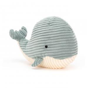 Jellycat - ROY3W - Peluche baleine Cordy Roy - L = 17 cm x l = 31 cm x H =23 cm (420570)